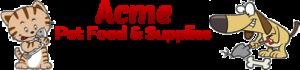 Acme Pet Foods Logo